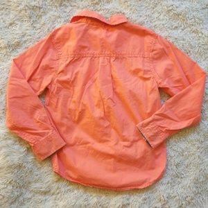 Arizona Jean Company Shirts & Tops - 🌹Boys orange button up shirt medium 8